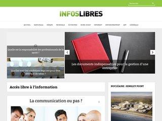 Site d'informations libres