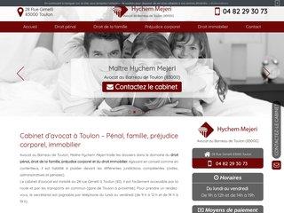 Avocat en droit pénal à Toulon