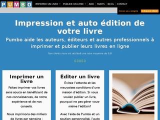 Pumbo, imprimez et éditez votre livre en ligne