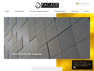 Entreprise de rénovation de façades au Havre