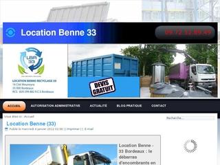 Location Benne Bordeaux
