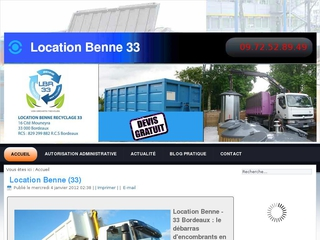 Location Benne Bordeaux