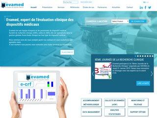 Evamed - développement d'applications de gestion des données cliniques et dispositifs médicaux