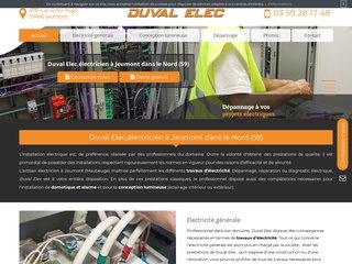 val Elec : des artisans électriciens à votre service à Jeumont