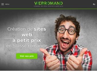 webromand - création de sites Internet à petit prix