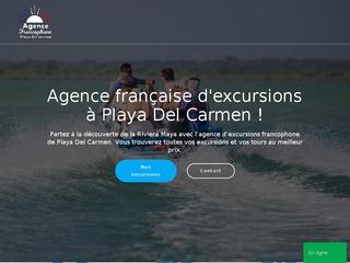 Excursions en français à Playa Del Carmen