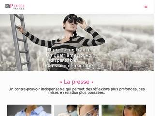 Informations sur les presses en France