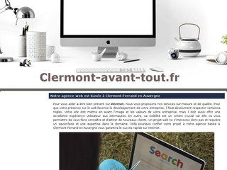 agence web clermont