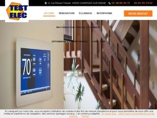 Électricité : Testelec à Champigny-sur-Marne (94)