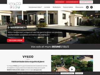 Vy & Co: Fabrication moquette de pierre
