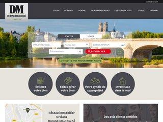 Durand-Montouché immobilier : votre agence immobilière à Orléans !