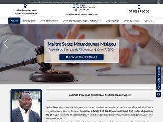 Maître Moundounga Ntsigou - Avocat à Chalon-sur-Saône