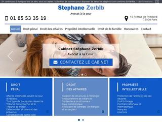 Cabinet de Maître Stéphane Zerbib - Avocat à Paris (75)