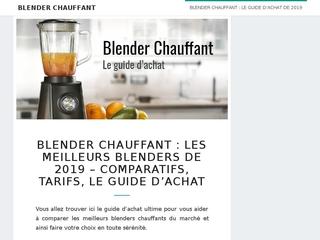 Blender chauffant : comparaison, tarif, conseils