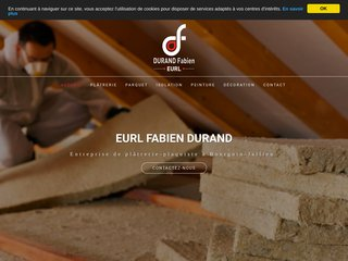 EURL FABIEN DURAND, Entreprise de plâtrerie-plaquiste à Bourgoin-Jallieu