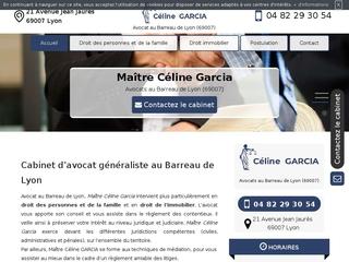 Maître Céline Garcia - avocat à Lyon