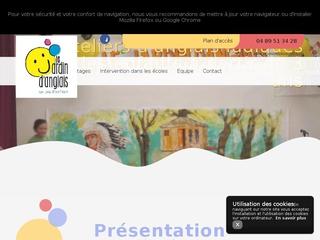 Ateliers ludiques pour cours d'anglais pour enfants à Marseille