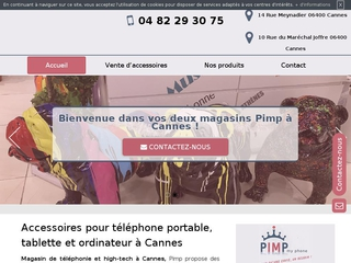 Magasin de vente d'accessoires pour tablette à Cannes, Pimp