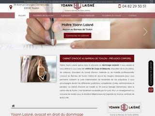 Avocat en droit du dommage corporel à Toulon
