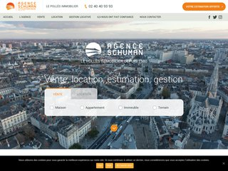 Agence Schuman : immobilier Nantes