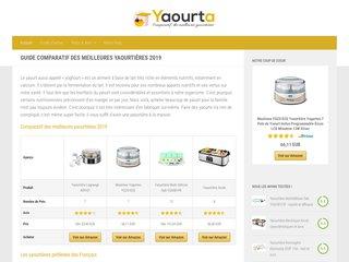 Yaourta : Comparatif et guide d'achat des meilleures yaourtières