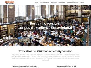 Découvrez l'opération campus de Bordeaux