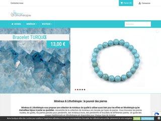 Bracelets en pierres sur Minéraux & Lithothérapie