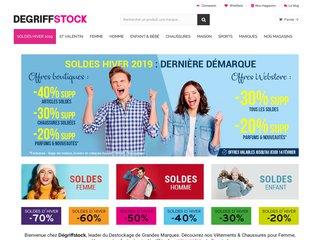 Vêtement de marque pas cher & Destockage - Degriffstock