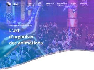 Animations d'événements d'entreprise