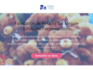 Création Peluche Publicitaire Sur Mesure. Peluche CE.