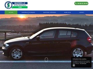 Centre de contrôle technique automobile à Marseille