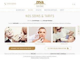 MaClinic cabinet de chirurgie plastique, réparatrice et esthétique à Bruxelles