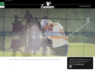 Organisateur d'événements autour du golf