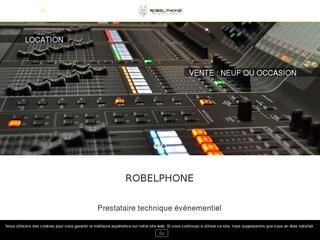 Robelphone: votre loueur de matériel audiovisuel