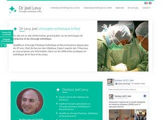 Dr Joel Levy, chirurgien esthétique à Nice