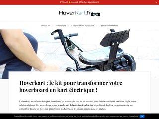 Jouissez plus de votre hoverboard grace à hoverkart