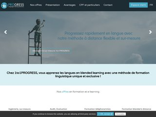 1to1 progress – audit linguistique