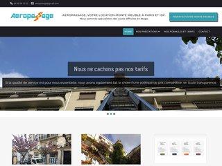Aeropassage, location monte meuble à Paris