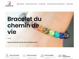 Les bracelets de chemin de vie