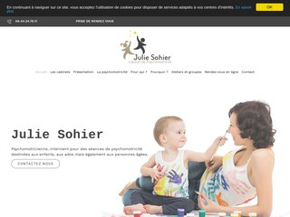 Julie Sohier, psychomotricienne à Allauch