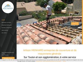Artisan Meinhard, couvreur à Toulon