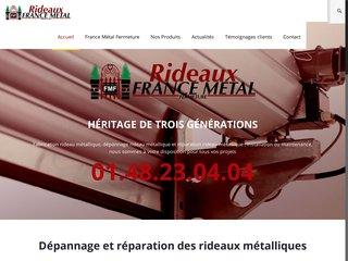 Réparation des rideaux métalliques