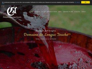 Domaine de Longue Touche, Vente direct de vin à Cholet