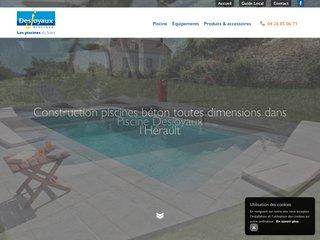 Construction d'une piscine à Frontignan