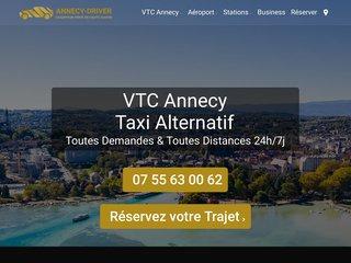 Annecy Driver, votre compagnie de transport avec chauffeur privé