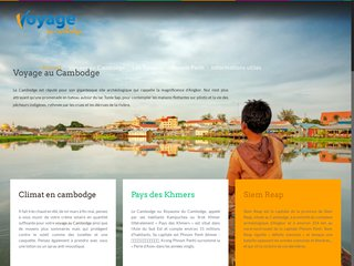 Découvrez le Cambodge