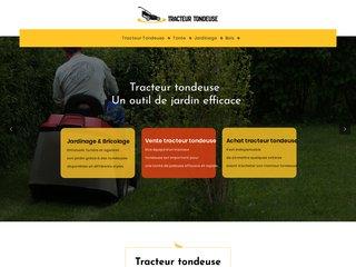 Tracteur Tondeuse