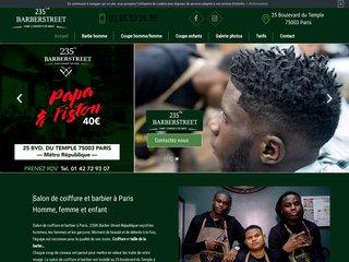 Coupe de cheveux pour enfants à Paris