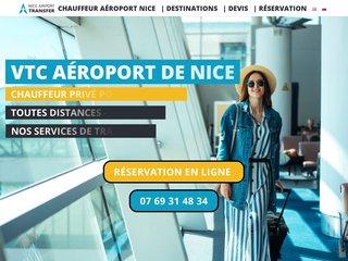 Nice Airport Transfer VTC pour ne plus rater votre vol