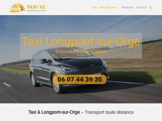 Taxi 91 Longpont-sur-Orge pour se déplacer autrement